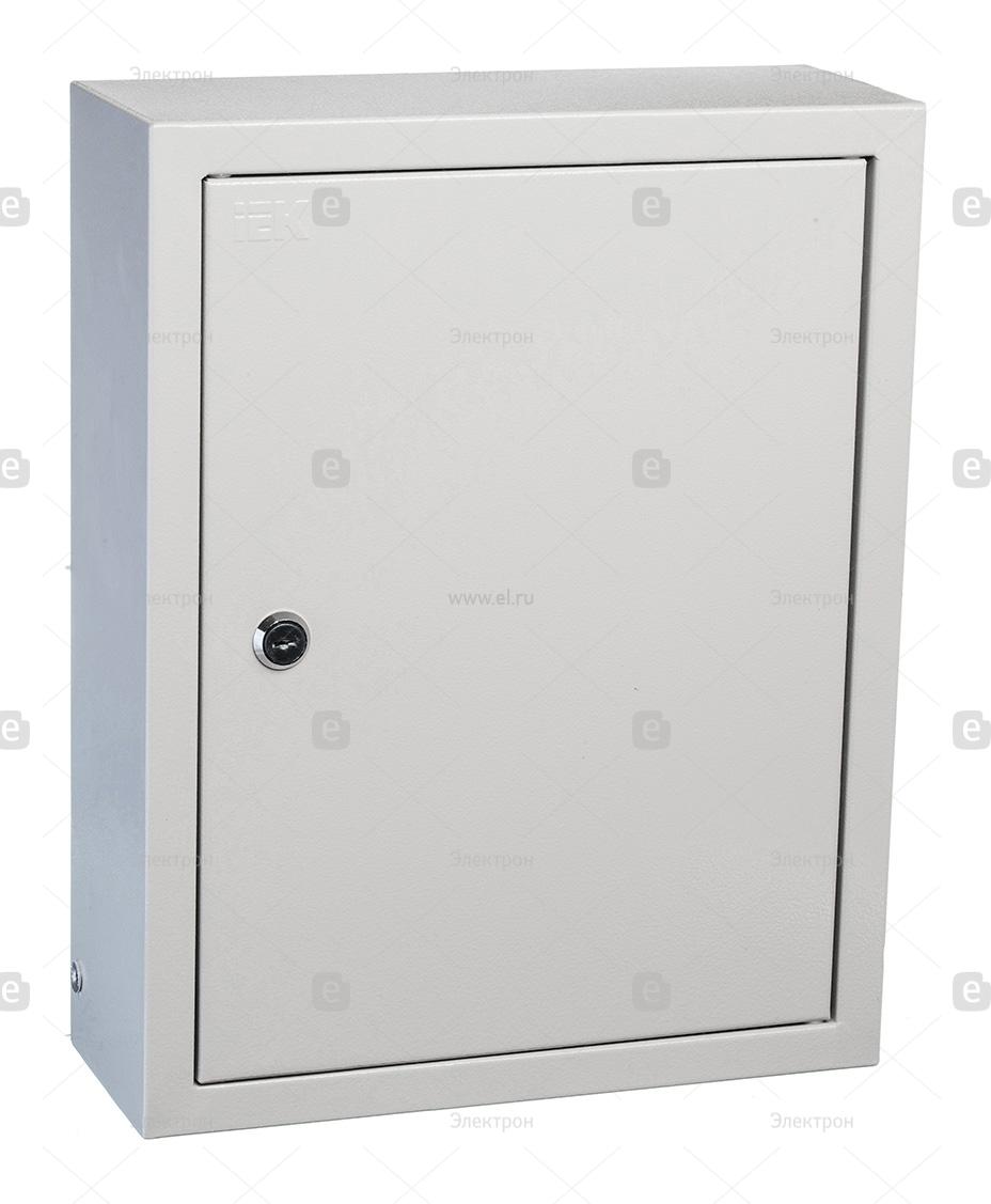 Щит навесной IEK ЩРН 24 модуля с металлической дверцей и замком IP31 ... 049ef16a910dc