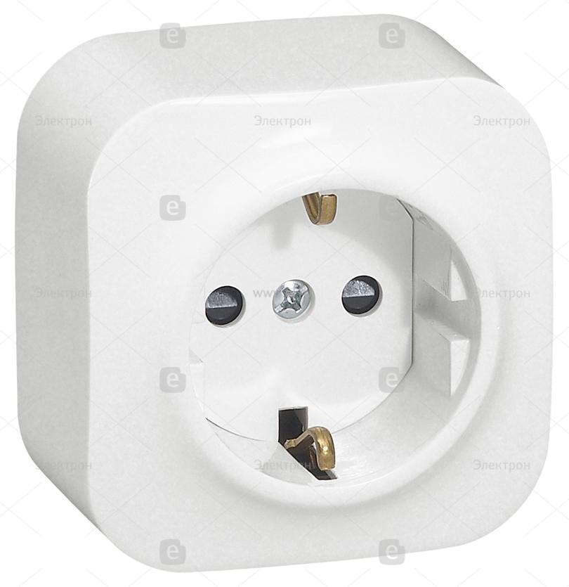 Купить красивый выключатель и розетки открытой установки